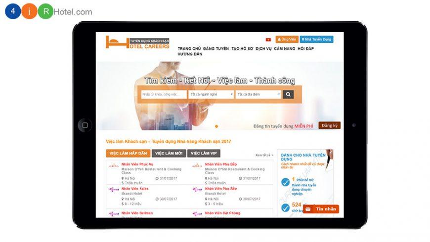 Dịch vụ đăng tin tuyển dụng, xem hồ sơ ứng