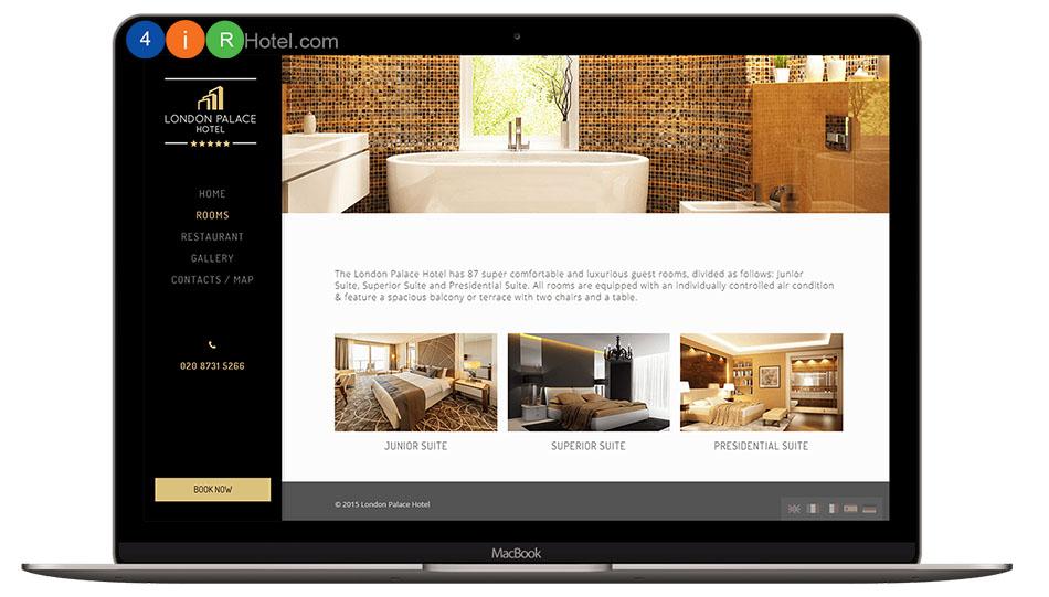 Dịch vụ thiết kế website Khách sạn/ Nhà hàng