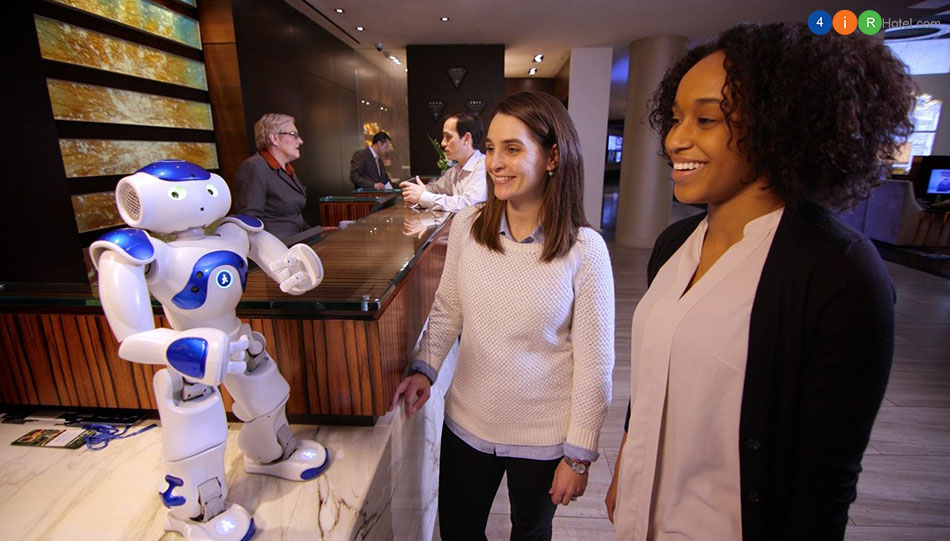 Sáu thương hiệu khách sạn dẫn đầu trong việc sử dụng công nghệ robot