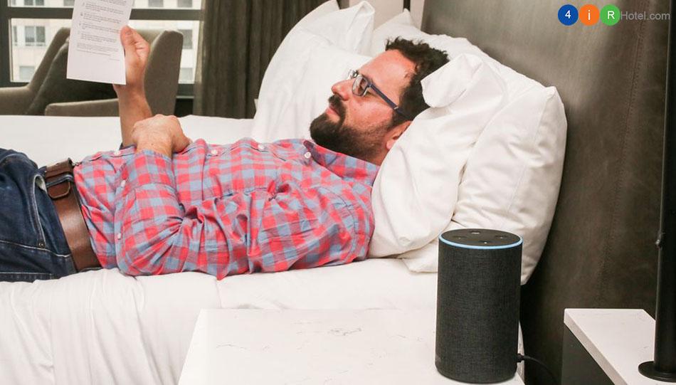 Loa Echo Amazon Alexa giúp khách sạn cải thiện trải nghiệm khách hàng như thế nào?