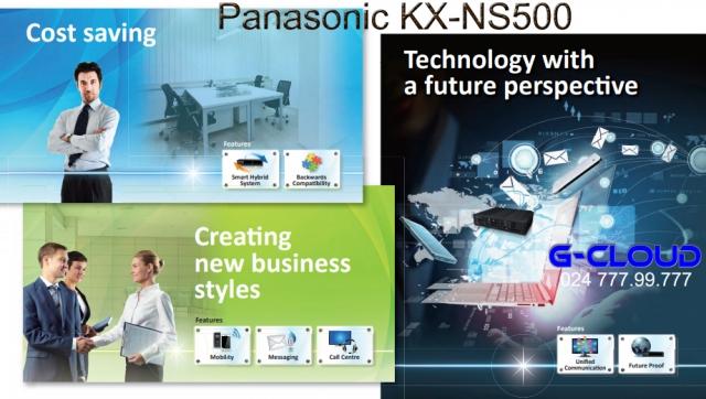 Tổng đài IP Panasonic KX-NS500
