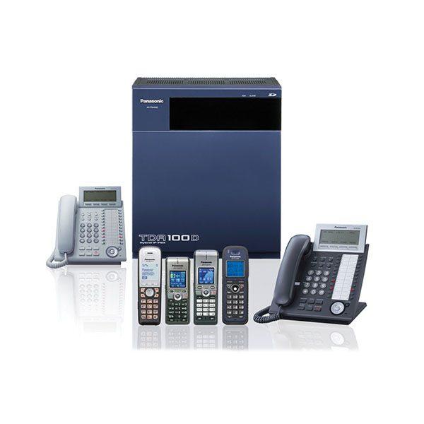 Tổng đài IP Panasonic KX-TDA100D (8-96),