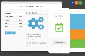 Công cụ đặt phòng (Booking Engine) tích hợp trên website