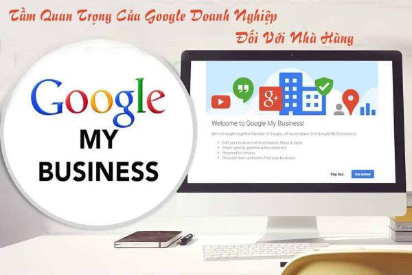 Google doanh nghiệp đối với nhà hàng